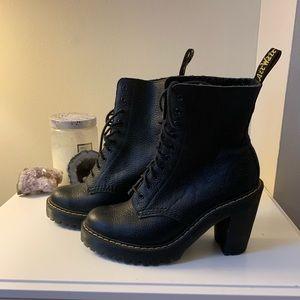 Dr. Martens - Black Kendra Boots w/ bouncing soles